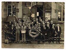 ANCIENNE PHOTO SAINT ELOY LES MINES LA CLASSE 1945 DES DEUX GUERRES
