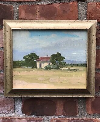 Arizona Landscape By Santa Fe New Mexico Artist Caroline Norton Signed 1995 Ebay