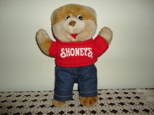 Vintage-1986-SHONEYS-SHONEY-BEAR-Authentic-Original