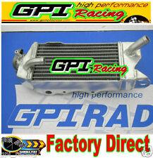 GPI aluminum radiator KAWASAKI KX80 KX85 KX100 98-2013 2010 2012 2013