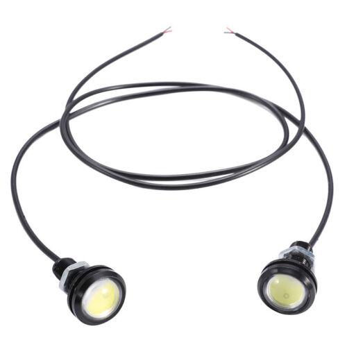 2X18W Eagle Eyes Lamp Daylight LED DRL Fog Daytime Running Cars Light Tail  RI