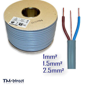 Twin /& Earth Basec 2.5Mm Cable Length 1 Metre Cable Size Doncaster Cables Twin /& Earth /& 3 Core And Earth Cable Cable Variety