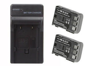 2-Pack-of-Canon-E160814-Battery-amp-Charger-Set-1800mAh-Replacement-Canon-NB-2LH