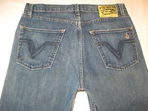 Volcom Jambe Noir X 32 Droite Jeans Stone 27 Homme Zip rXUrAxw