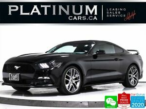 2016 Ford Mustang EcoBoost 310HP, FASTBACK, MANUAL, NAV, CAM, VENT