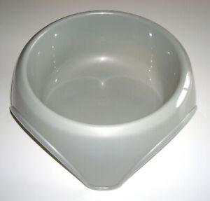 Gamelle-pour-Chiens-Animaux-FRISKIES-Plastiques-Taille-19-5-cm-Gris-NEUF