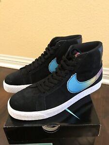 fb04d98725ed Nike SB Zoom Blazer Mid QS Lance Mountain Black Multi-color AH6158 ...