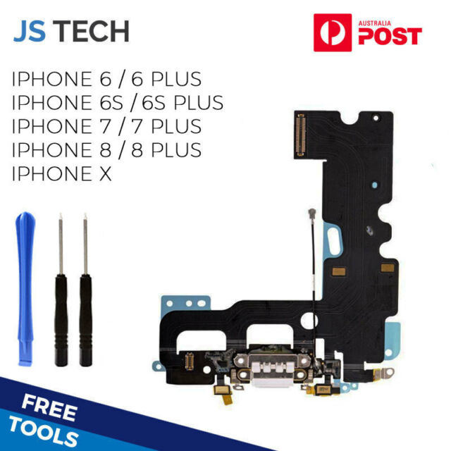New For iPhone 6 6S 7 8 X Plus Charge Charging Port Dock Flex Replacement