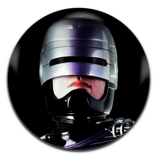 1 Inch D Pin Button Badge Robo Cop Classic Movie 80/'s 25mm
