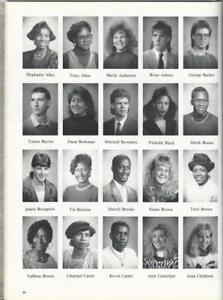 1989 1990 Beechcroft High School Yearbook Excitement Columbus