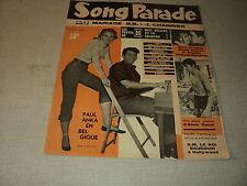 SONG PARADE 09 (7/59) ALAIN DELON PAUL ANKA BRIGITTE BARDOT JACQUES CHARRIER