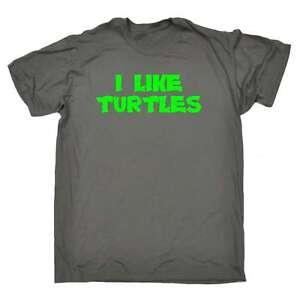 Funny-Mens-T-Shirts-I-Like-Turtles-Meme-Viral-T-SHIRT-Birthday-Novelty