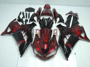 Fairing-2012-2015-For-Kawasaki-ZX14R-ZZR1400-Red-Fairings-Bodywork-Kit