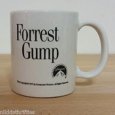 Forrest Gump Movie Promotional Coffee Mug Paramount 1995 Tom Hanks