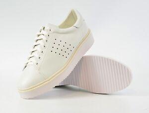 0f4684e623b0ca Das Bild wird geladen MNG-Sneakers-Gr-UK-4-37-Plateau-Leder-