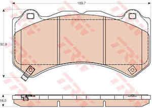 TRW-Front-Brake-Pads-Set-GDB4450-BRAND-NEW-GENUINE-5-YEAR-WARRANTY
