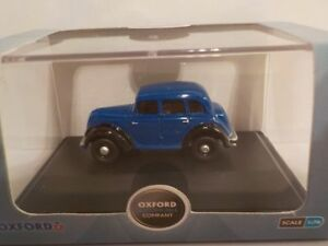 Morris-Eight-E-Series-Blue-Model-Cars-Oxford-Diecast