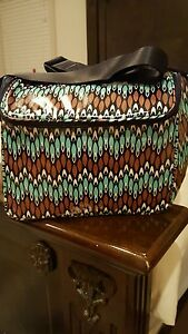 f2f8d61937eb83 Vera Bradley Stay Cooler Lunch Tote or Camera Case In SIERRA STREAM ...