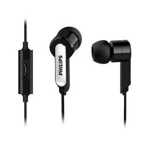 4b2368276e2a05 Philips SHE 1405 BKS In-ear earphones with mic Black / Genuine | eBay