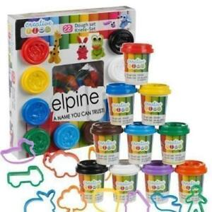 Play-Dough-Set-Includes-Tubs-Shapes-Children-Toys-Hobby-Kids-Craft-Gift-New-22pc