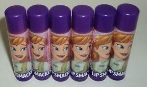 6-BONNE-BELL-DISNEY-FROZEN-Anna-Lip-Smacker-Gloss-CHILLED-CRANBERRY-GRAPE-Flavor