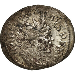 Cologne #411571 50-53 Ric:77 Bracing Up The Whole System And Strengthening It Postumus Billon Au Generous Antoninianus