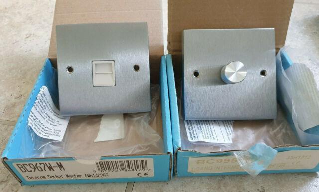 Heritage Brass CR967W-M Chrome Téléphone Master Socket-New /& Boxed