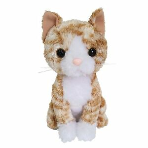 Premium Kitty Orange Tabby Cat Stuffed Animal Plush Gift Baby