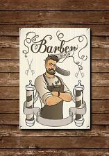 Barber Shop Sign, Metal Sign, Barber Shop Signs,Vintage Style,Barbers Sign, 749