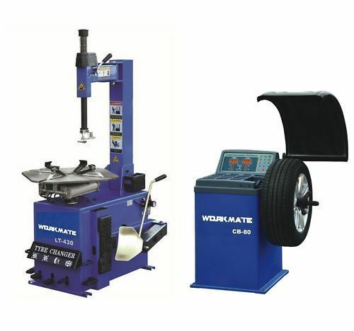 "Tyre (Tire) Changer (10""-24"") & Wheel Balancer Machine Combo-1"