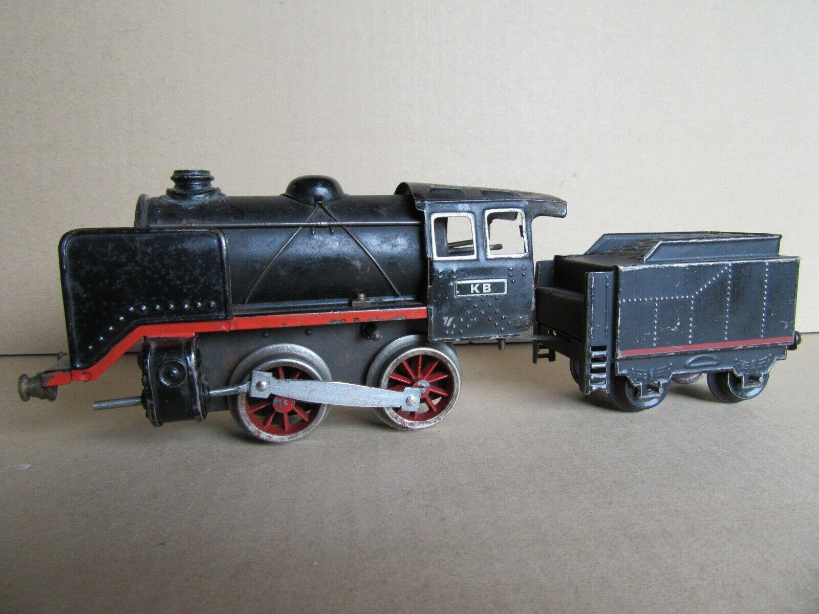 967I Vintage KB Karl Bub Locomotive Vapeur 4725R Zéro