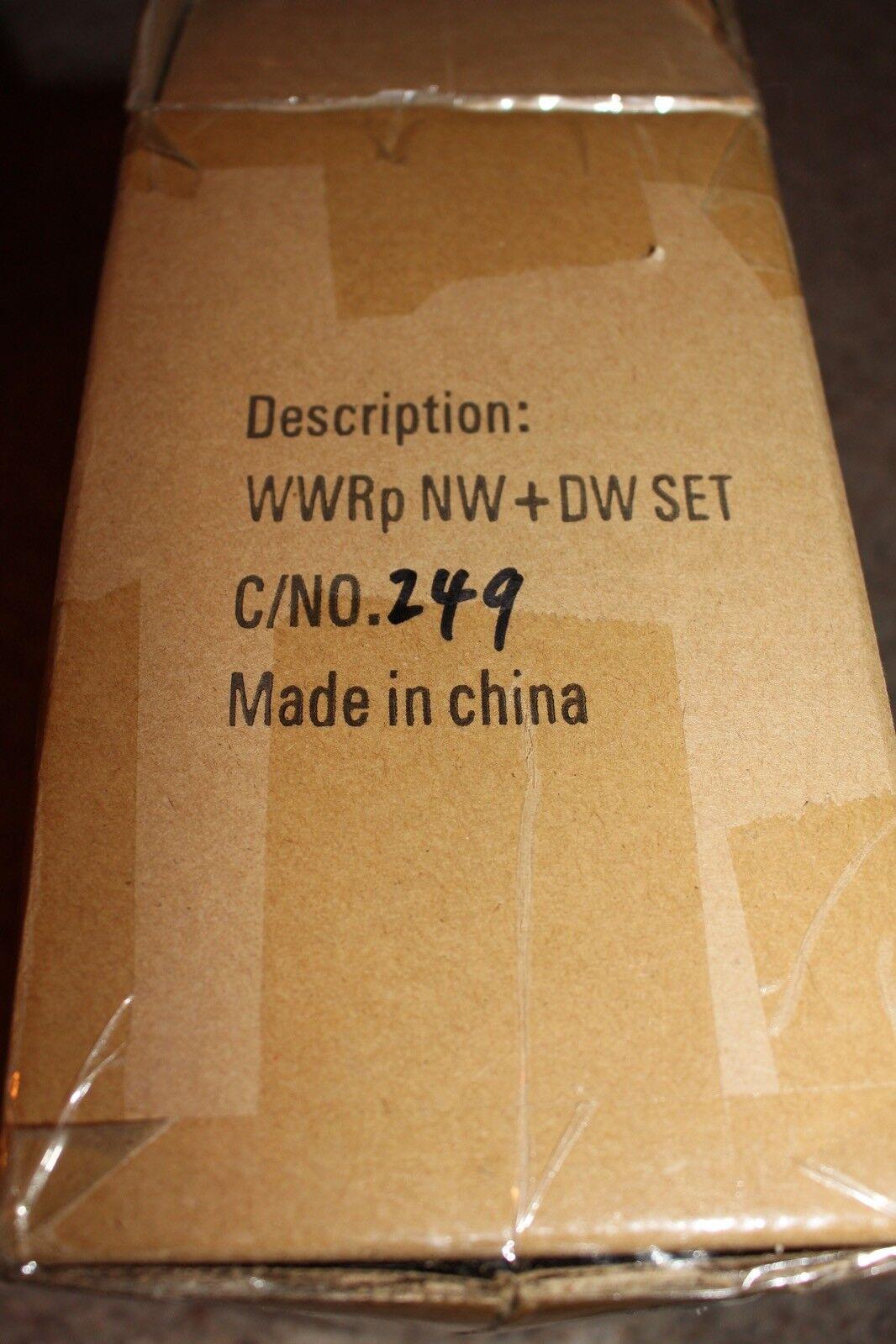 3a World War Robot Portable Dropcloth Nightwatch Daywatch In Box Mint ThreeA
