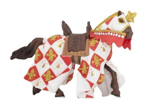 Papo 39789 cavallo del Cavaliere GIGLIO BIANCO 14 cm mondo Cavalieri