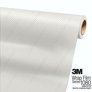 3M-1080-CF10-WHITE-CARBON-FIBER-Vinyl-Vehicle-Car-Wrap-Film-Decal-Sticker