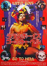 Latin Boys Go To Hell 1997 LGBT Indie Drama Mini movie Poster Chirashi Japan