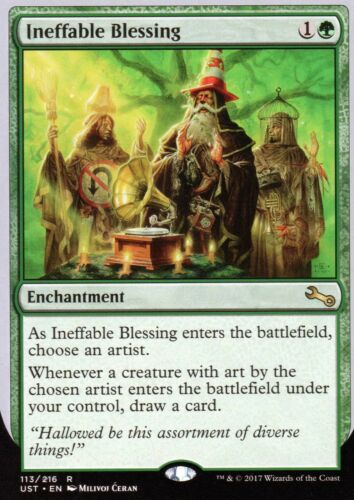 Ineffable Blessing-version 5Presque comme neuf//MUnstablemagic mtg