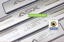 MITSUBISHI ASX RVR soglia della porta in acciaio inox graffi Goniometro Guardie per 2010-17