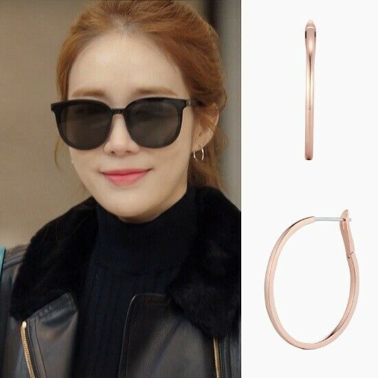 STONE HENGE K1328 EARRINGS Touch Your Heart KPOP Ring Round Korea Drama Arafeel