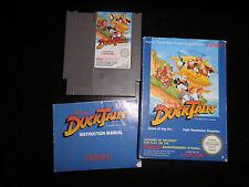 Nintendo NES - duck tales - 100%  complete