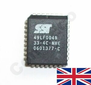 Details about SST 49LF004B PLCC32 BIOS chip replacement +flashing