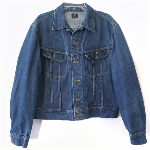 VINTAGE ORIGINAL LEE RIDERS UNION MADE DENIM JACKE