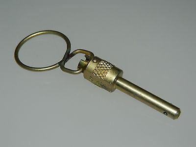 "3/16"" Diameter Quick Release Pip Pin 0.8"" Grip Length Part: AGS2107-0308 [G10]"