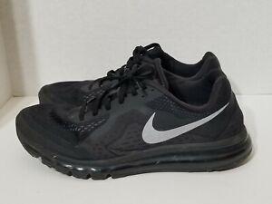 nouveau style fefcc 4c1ae Details about Nike Air Max 2014 Black Silver Model 621077-001 Men's Size 15