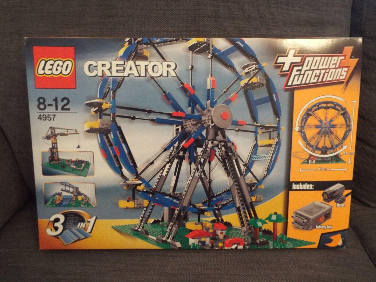 LEGO Creator 4957 Motorized Ferris Wheel BRAND NEW SEALED RARE SET