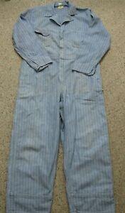 Men-039-s-Vintage-Big-Ben-Wrangler-Herringbone-Coveralls-Size-Large-42-44