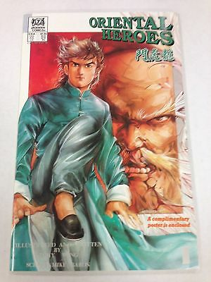 Oriental Heroes Comic Book #14 Jademan Comics Manga 1989 NEW UNREAD