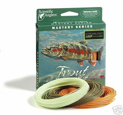 Scientific Scientific Scientific Angler Fly Line Mastery Trout WF5F GREAT NEW 152380