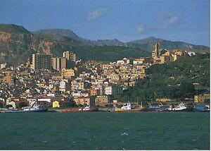 CARTOLINA-SICILIA-SICILY-POSTCARD-TERMINI-IMERESE-VEDUTA-PANORAMICA-DAL-MARE