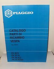 Manuale catalogo parti di ricambio vespa pk 50  S  XL  XL2  RUSH ottimo