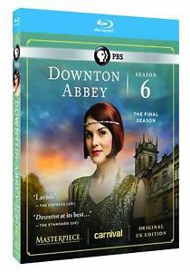 Masterpiece-Downton-Abbey-Series-6-Blu-ray-New-Sealed-Region-A-US
